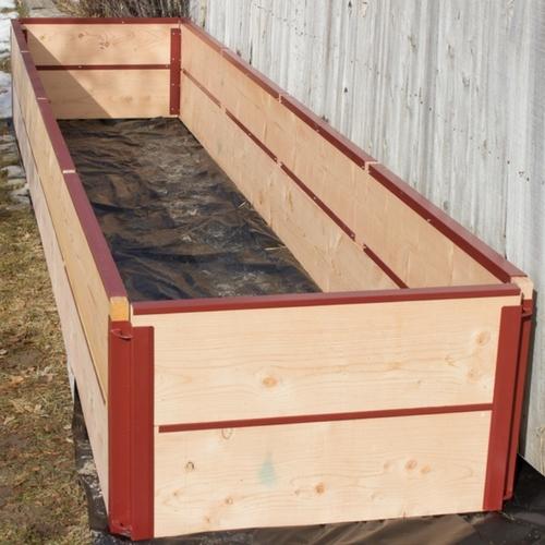 21″ Raised Bed Corner Brackets (Qty 4)